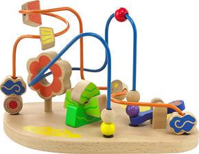 AKTIVITETSLEKSAK - multicolor, Natur, trä (20/23,7/18,7cm) - My Baby Lou