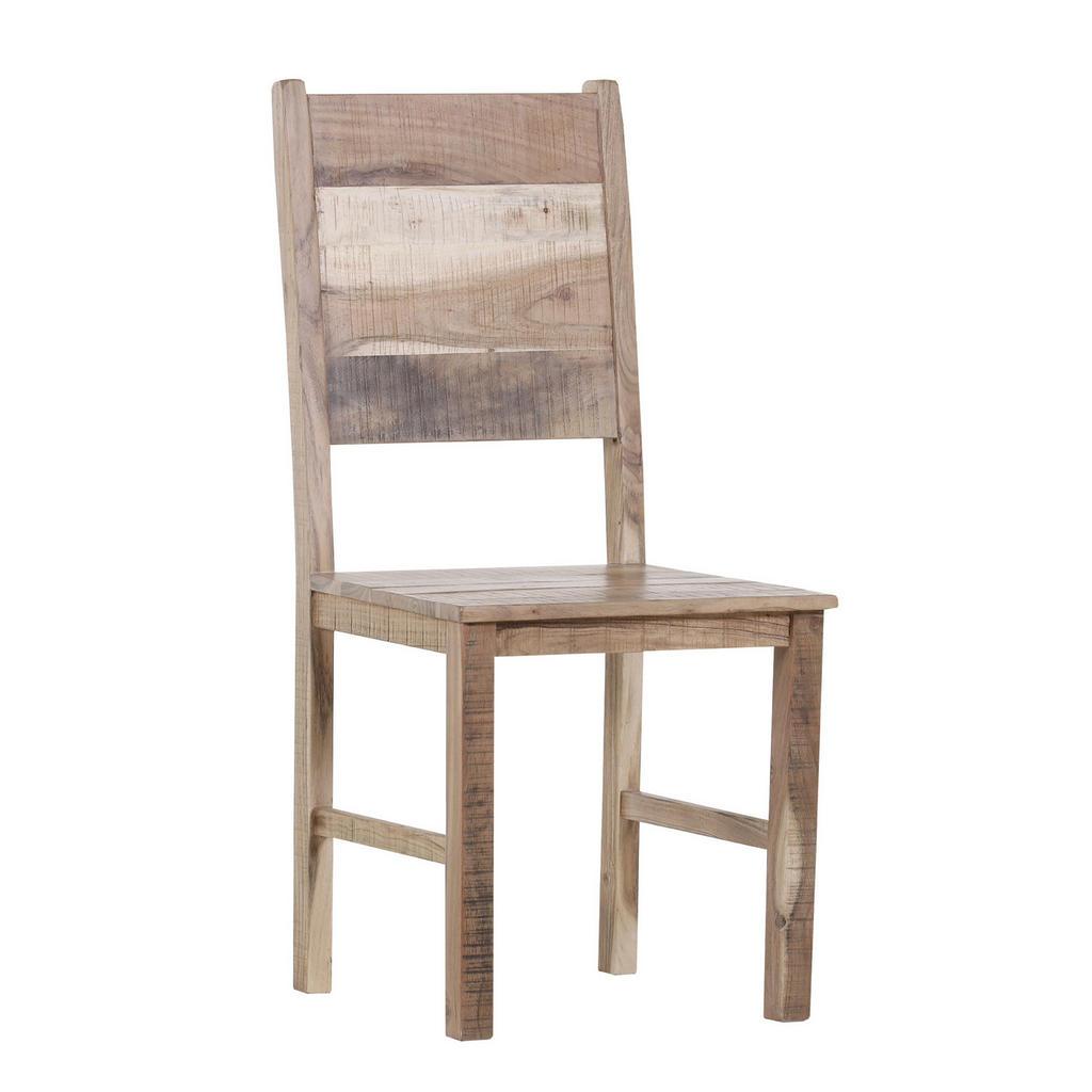 Esszimmerstuhl aus Akazienholz