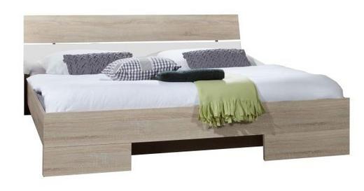 POSTEL - bílá/barvy dubu, Design, dřevěný materiál (189/81/210cm) - CARRYHOME
