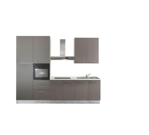 KUHINJSKI BLOK - bijela/siva, Moderno, drvni materijal (300/240cm) - Italstyle