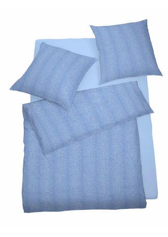 POSTELJNINA - modra, Konvencionalno, tekstil (135/200cm) - Schlafgut