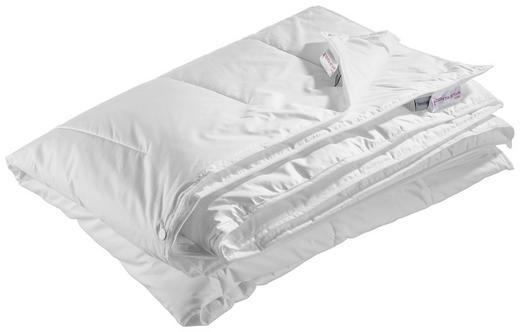 4-Jahreszeitenbett Thermo  135/200 cm - Weiß, Basics, Textil (135/200cm) - Centa-Star