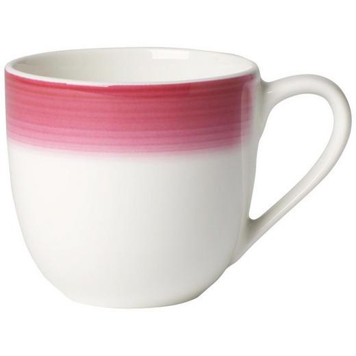 ESPRESSOTASSE 100 ml - Creme/Rosa, KONVENTIONELL, Keramik (0,1//l) - Villeroy & Boch