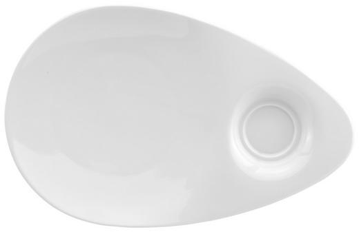 SERVIERPLATTE - Weiß, KONVENTIONELL, Keramik (29/19/3cm) - Seltmann Weiden