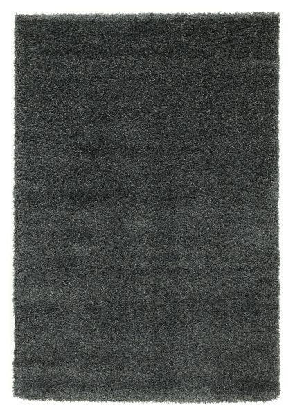 HOCHFLORTEPPICH  200/250 cm   Dunkelgrau - Dunkelgrau, Basics, Textil (200/250cm) - Novel