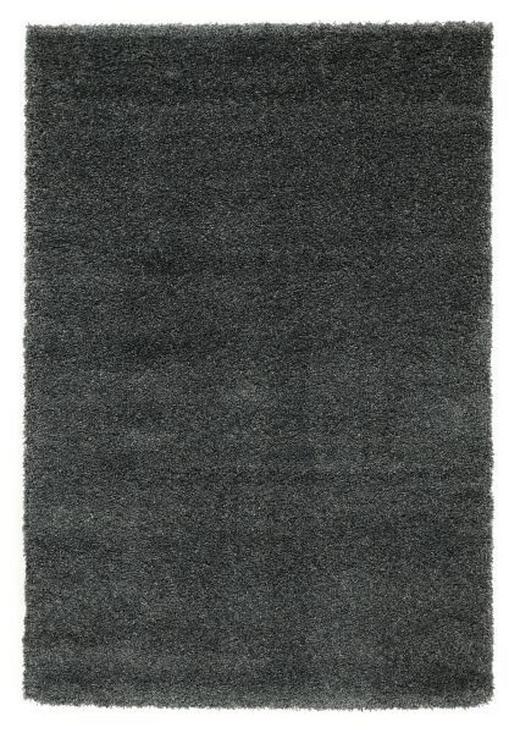HOCHFLORTEPPICH  120/170 cm   Dunkelgrau - Dunkelgrau, Basics, Textil (120/170cm) - Novel
