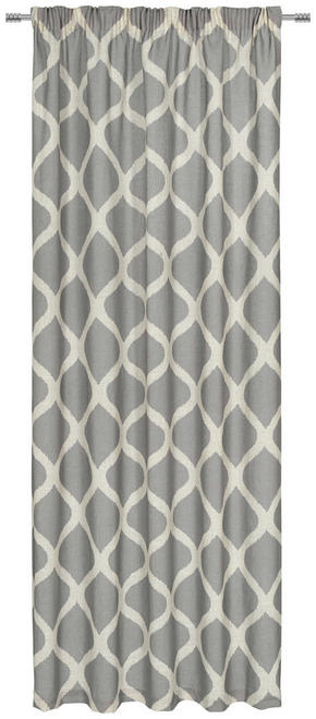 GARDINLÄNGD - grå, Design, textil (140/245cm) - Esposa