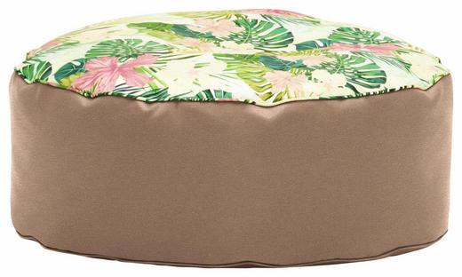 HOCKER in Textil Multicolor, Beige - Beige/Multicolor, Design, Textil (80/30cm) - Carryhome