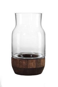 LJUSLYKTA - klar/brun, Design, trä/glas (16/16/28cm) - Ritzenhoff Breker