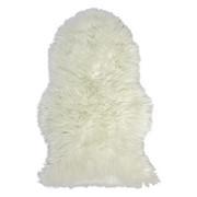 KUNSTFELL - Weiß, KONVENTIONELL, Textil (60/90cm) - Boxxx