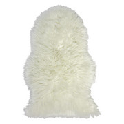 Schaffellimitat  60/90 cm  Weiß - Weiß, Basics, Textil (60/90cm) - Boxxx