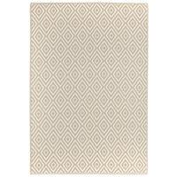 OUTDOORTEPPICH  In-/ Outdoor  Beige, Weiß - Beige/Weiß, Trend, Textil (120/180cm) - Boxxx