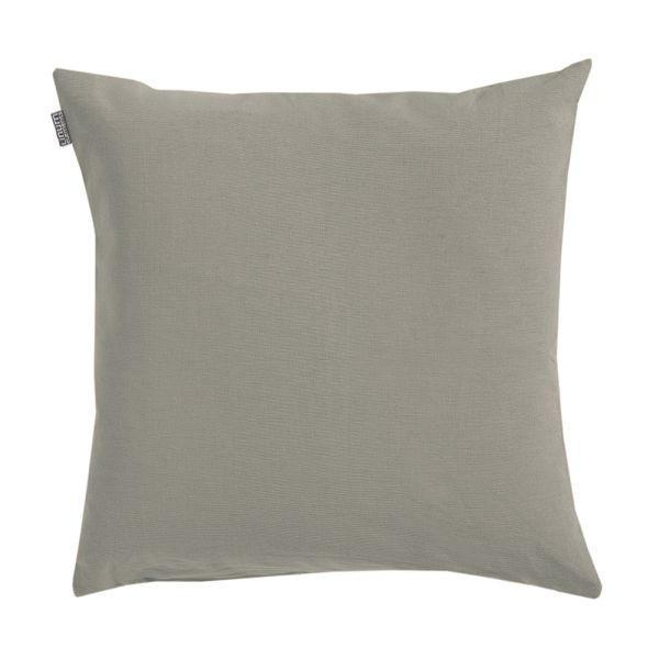 KISSENHÜLLE Beige, Braun 50/50 cm - Beige/Braun, Basics, Textil (50/50cm) - LINUM