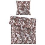 BETTWÄSCHE Satin Rot  - Rot, KONVENTIONELL, Textil (135/200cm) - Ambiente
