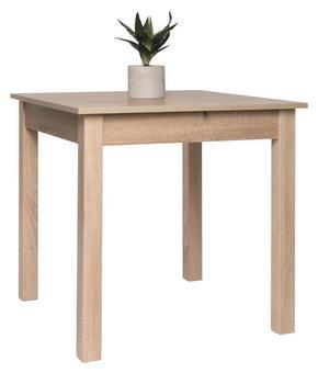 MATBORD - ekfärgad, Design, träbaserade material (80-120/80/76,5cm) - Carryhome