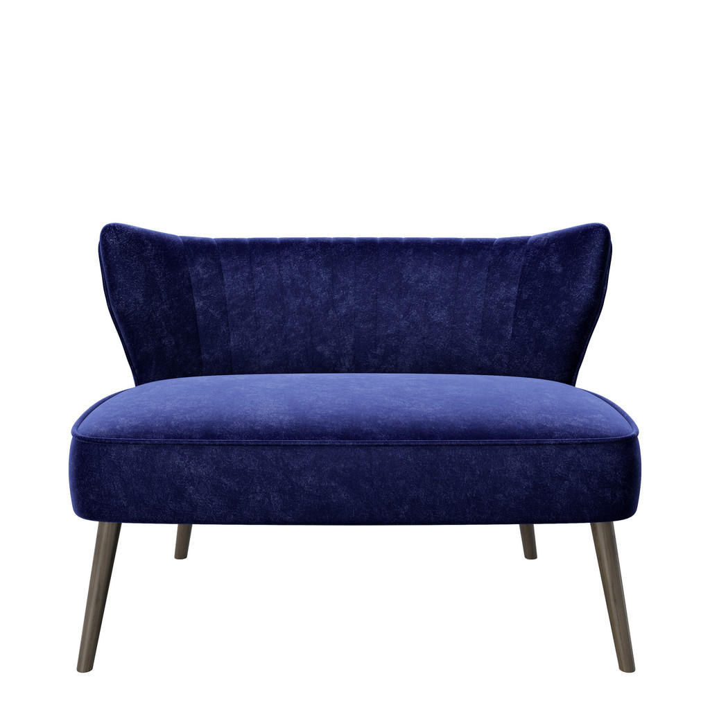 Playboy Zweisitzer-sofa samt blau