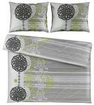 BETTWÄSCHE 200/200 cm  - Olivgrün, KONVENTIONELL, Textil (200/200cm) - Esposa
