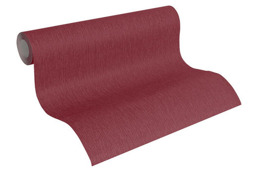 VLIESTAPETE 10,05 m - Rot/Dunkelrot, Design, Textil (53/1005cm)