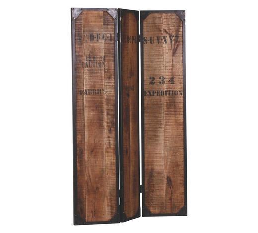 Paravent Holz Metall Mangoholz Massiv Braun Online Kaufen Xxxlutz