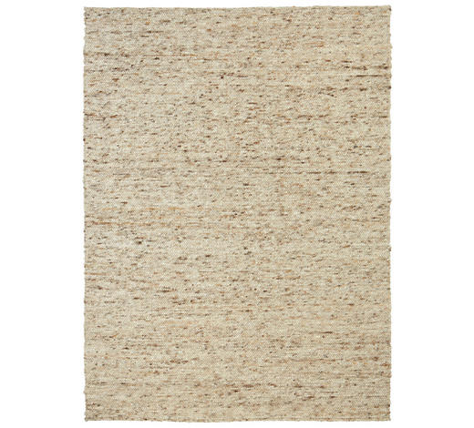 HANDWEBTEPPICH 70/130 cm - Braun, Natur, Textil (70/130cm) - Linea Natura