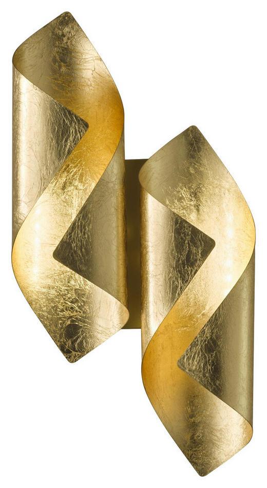 LED-WANDLEUCHTE - Goldfarben, KONVENTIONELL, Metall (42/10/21cm) - Wofi