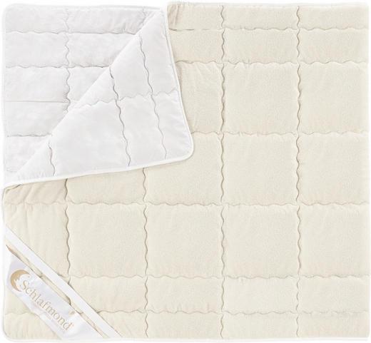 UNTERBETT - Naturfarben/Weiß, Basics, Textil (90/200/cm) - Schlafmond