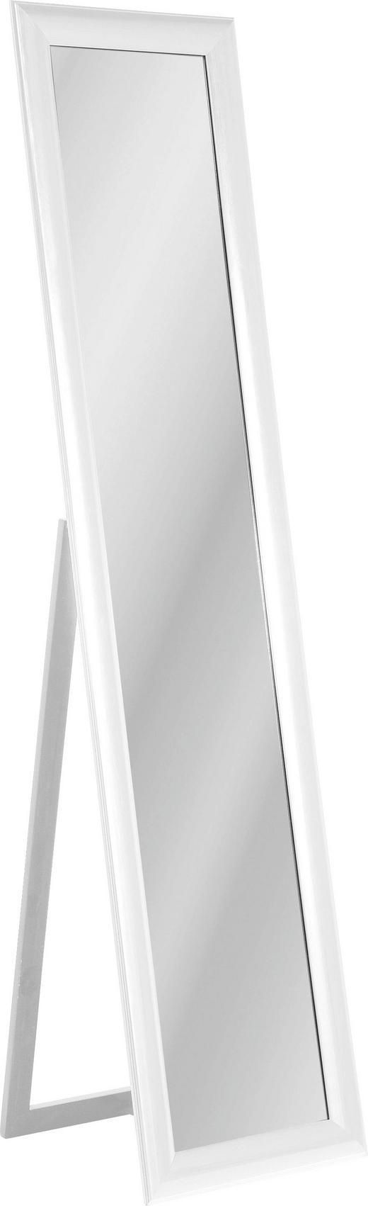 STANDSPIEGEL - Weiß, Design, Glas/Holzwerkstoff (40/170/40cm) - Kare-Design
