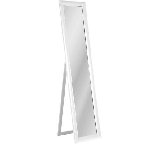 STANDSPIEGEL Weiß - Weiß, Design, Glas/Holzwerkstoff (40/170/40cm) - Kare-Design