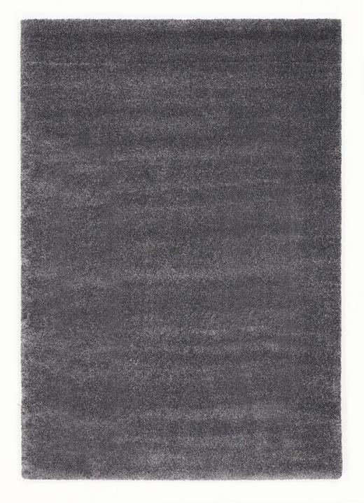 HOCHFLORTEPPICH   gewebt  Dunkelgrau - Dunkelgrau, Basics, Textil (65/130/cm) - Novel