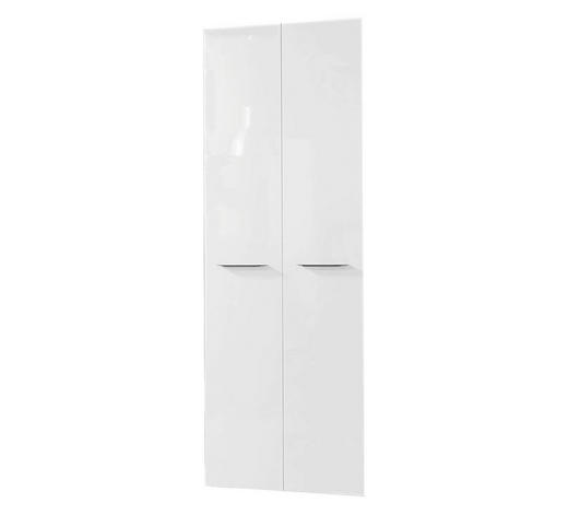 TÜRENSET 75/210/1,8 cm Weiß  - Bronzefarben/Weiß, Design, Metall (75/210/1,8cm) - Carryhome