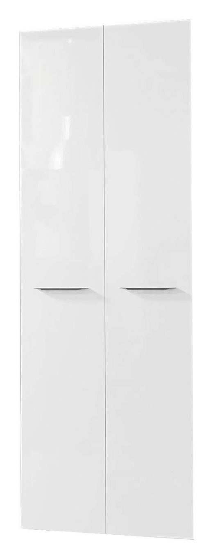 TÜRENSET 75/210/1,8 cm Weiß - Weiß/Bronzefarben, Design, Metall (75/210/1,8cm) - Carryhome