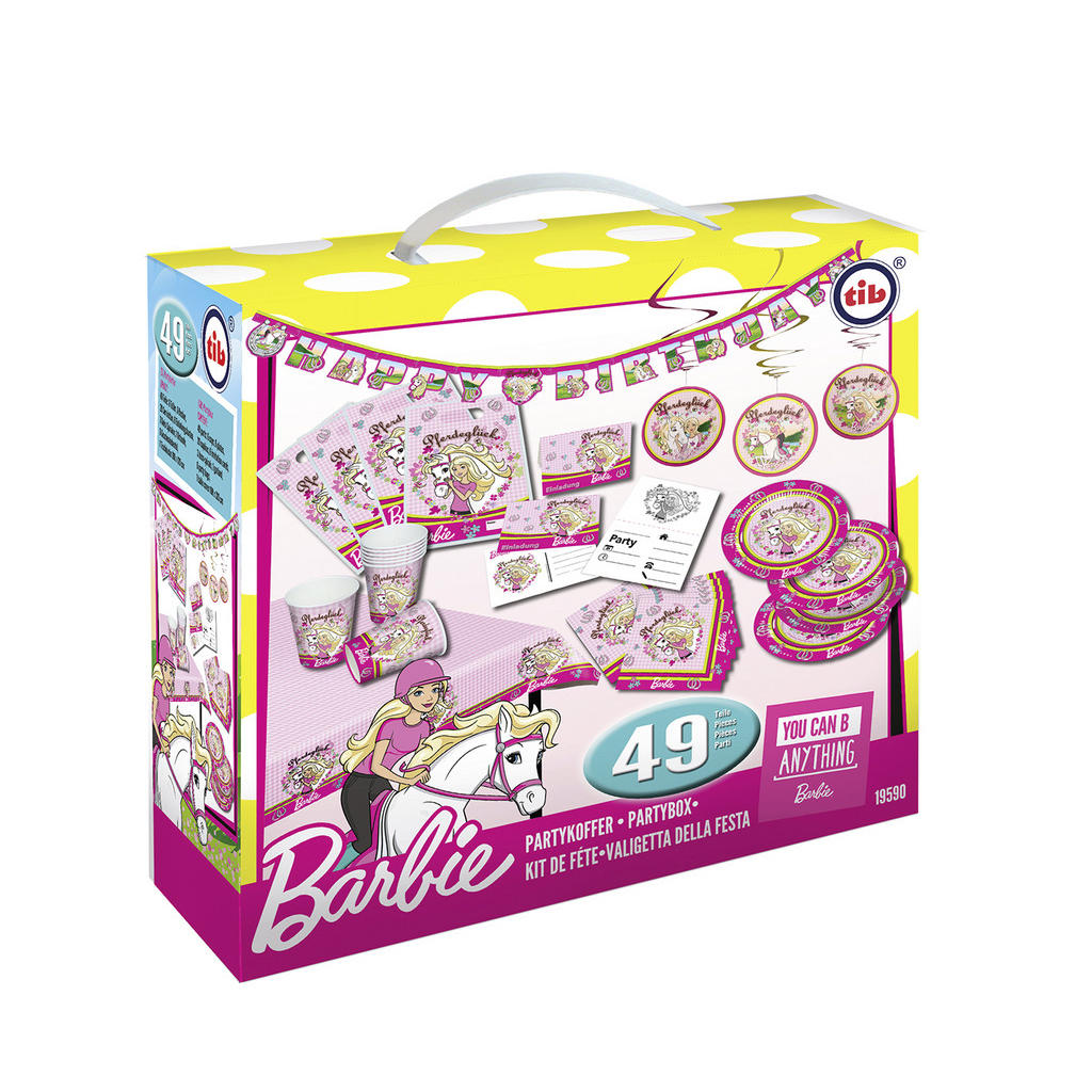XXXLutz Partykoffer barbie