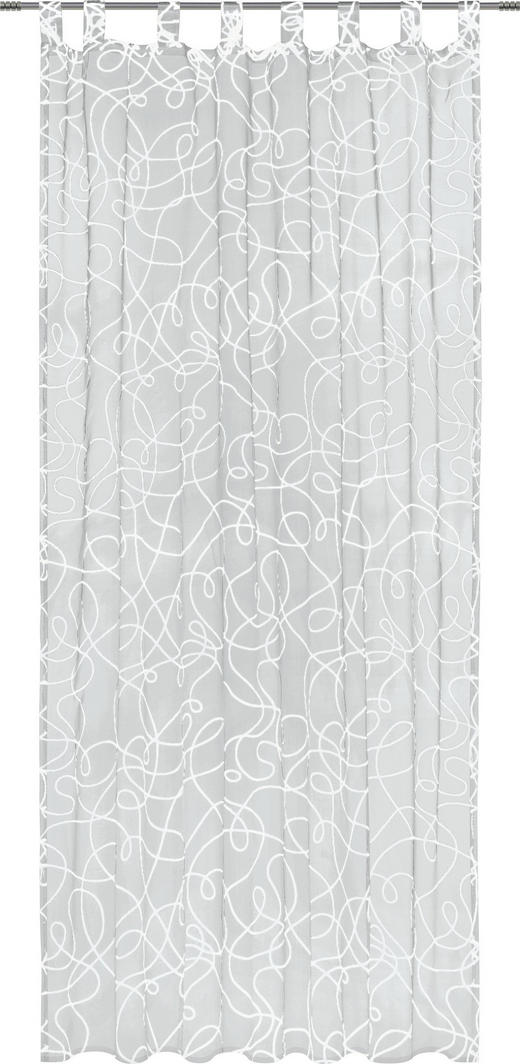FERTIGVORHANG  transparent  140/245 cm - Weiß, KONVENTIONELL, Textil (140/245cm) - Boxxx
