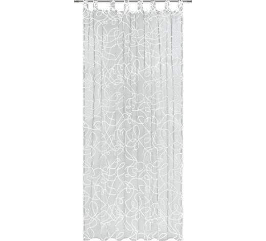 ZÁVĚS HOTOVÝ - bílá, Konvenční, textilie (140/245cm) - Boxxx