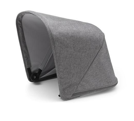 KINDERWAGENVERDECK - Grau, Design, Textil (60cm) - Bugaboo