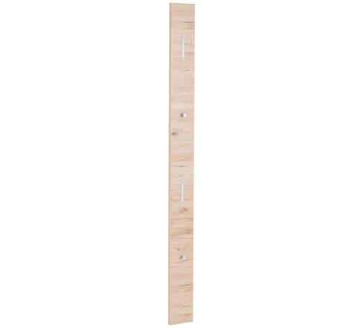 GARDEROBENPANEEL lackiert Eichefarben  - Eichefarben, Design (16/180/2cm) - Cassando