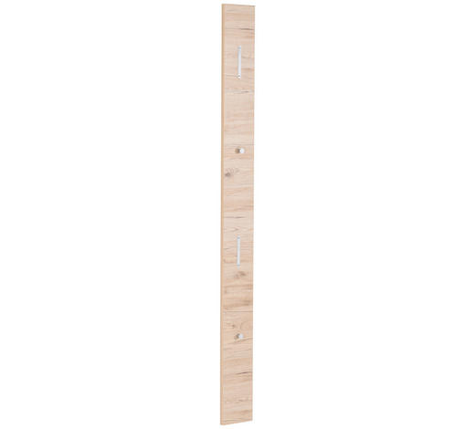 GARDEROBENPANEEL 16/180/2 cm  - Eichefarben, Design, Holzwerkstoff (16/180/2cm) - Cassando
