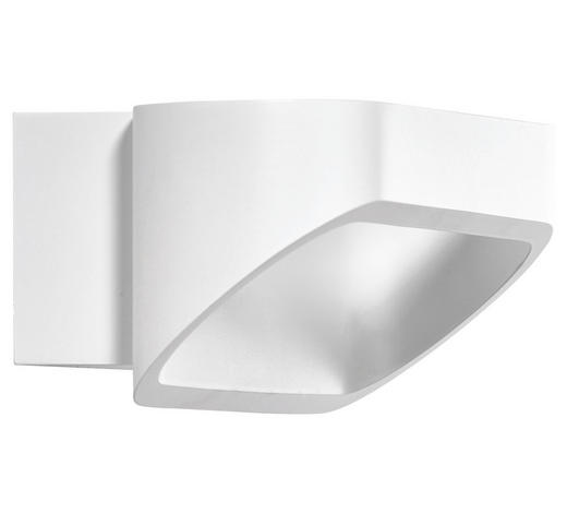 LED-WANDLEUCHTE - Weiß, Design, Metall (7/18/9cm) - Helestra