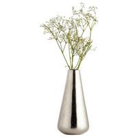VASE 15 cm  - Nickelfarben, Basics, Metall (15cm) - Ambia Home