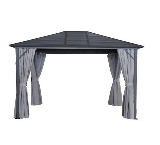 PAVILON,  - šedá/antracitová, Basics, kov/textil (365/260/300cm) - Ambia Garden