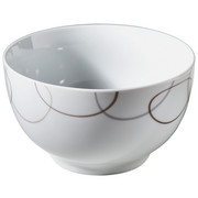 MÜSLISCHALE - Braun/Weiß, Basics, Keramik (15cm) - Ritzenhoff Breker