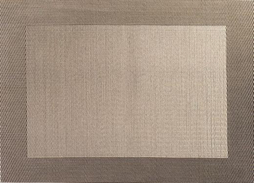 TISCHSET - Beige/Grün, Basics, Kunststoff (33/46cm) - ASA