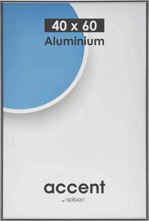 BILDERRAHMEN  Grau - Grau, Metall (40/60cm)