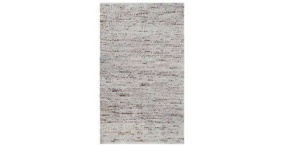 HANDWEBTEPPICH 80/150 cm - Beige, Natur, Textil (80/150cm) - Linea Natura