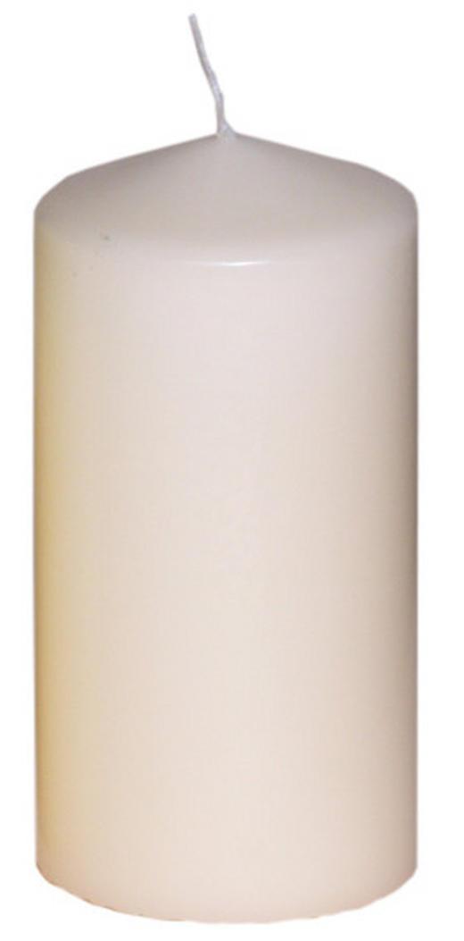 STUMPENKERZE 7,7/15 cm - Creme, Basics (7,7/15cm)
