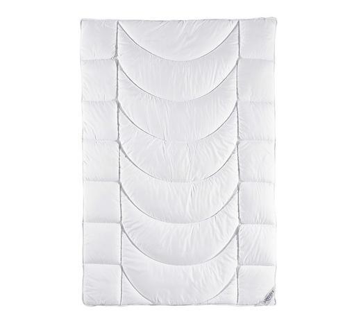 GANZJAHRESBETT  200/200 cm   - Weiß, Basics, Textil (200/200cm) - Sleeptex