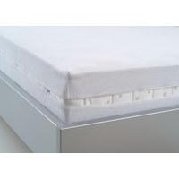 MATRATZENBEZUG - Weiß, Basics, Textil (120/200cm) - Sleeptex
