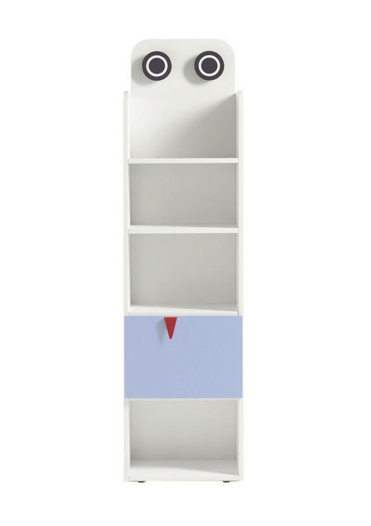 BABYREGAL Now! Minimo Hellblau, Weiß - Weiß/Hellblau, Design (45,5/173,8/33,5cm) - Now by Hülsta