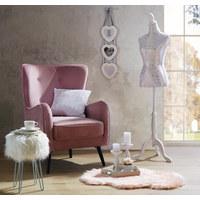 KREJČOVSKÝ PANÁK - bílá, Trend, kov/kompozitní dřevo (165cm) - Ambia Home