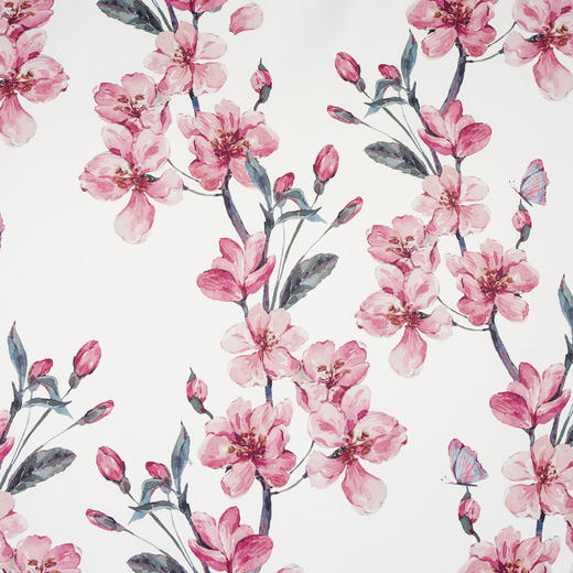 VORHANGSTOFF per lfm blickdicht - Rosa, KONVENTIONELL, Textil (150cm) - Esposa